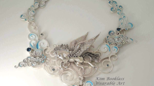 Silver Metal Clay Interchangeable necklace
